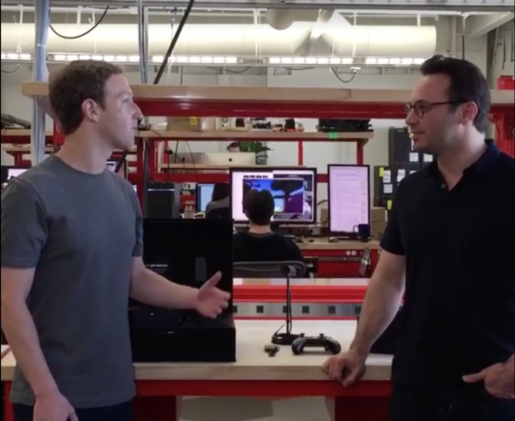 mark zuckerberg with oculus rift