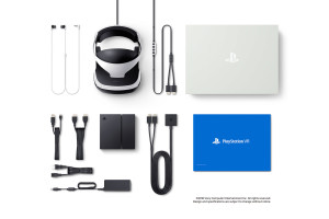 Playstation VR items included