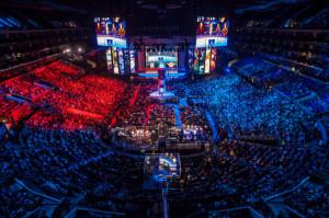 e-sports gaming world