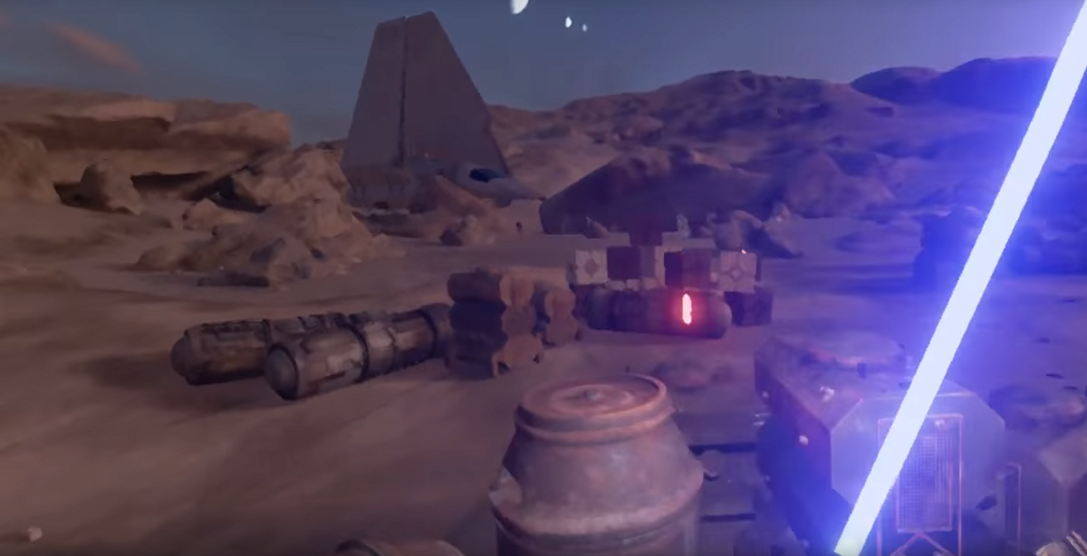 Star Wars VR Trials On Tatooine