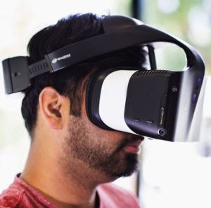 intel project alloy vr headset