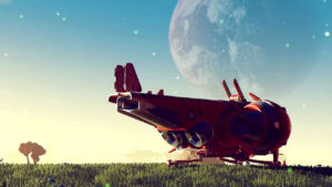 no mans sky spaceship