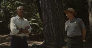 president obama with park ranger vr