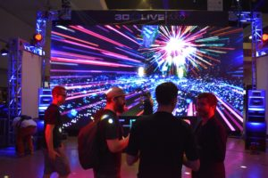 the first vr rave