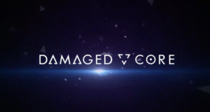 damaged core logo