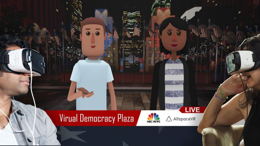 AltspaceVR & NBC News Team Up To Recreate Rockefeller Democracy Plaza