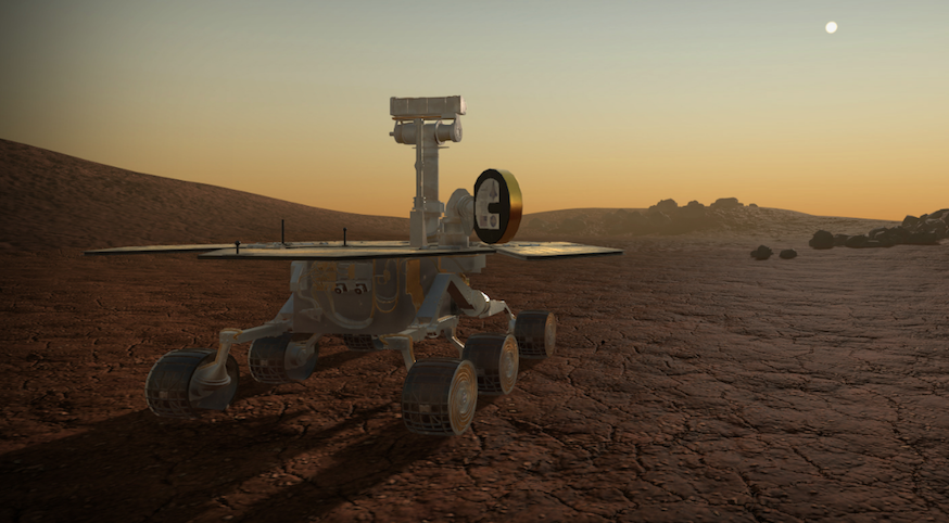 The Mars Odyssey VR Experience