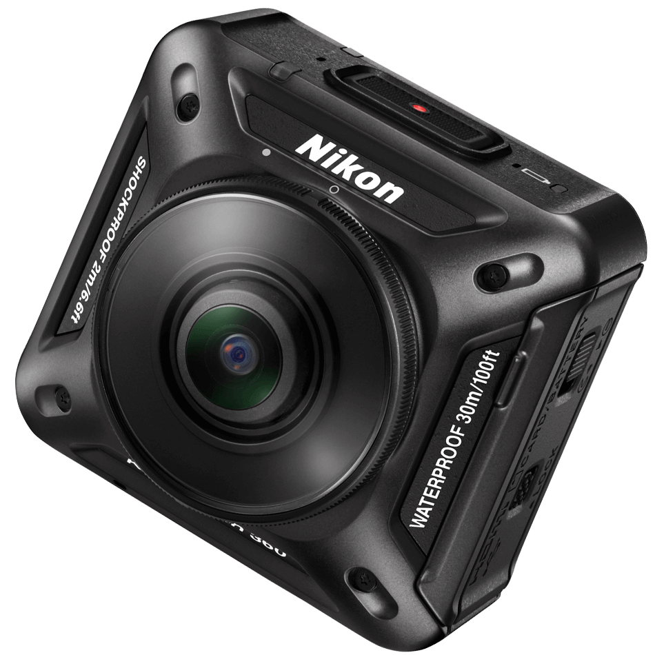 Nikon unveils their VR solution with the KeyMission 360 Cameras
