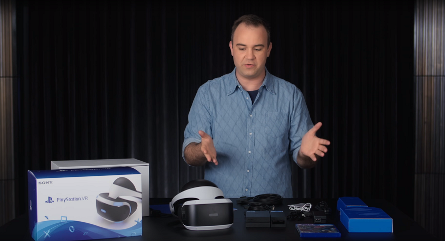 Here's the Unboxing Of Playstation VR