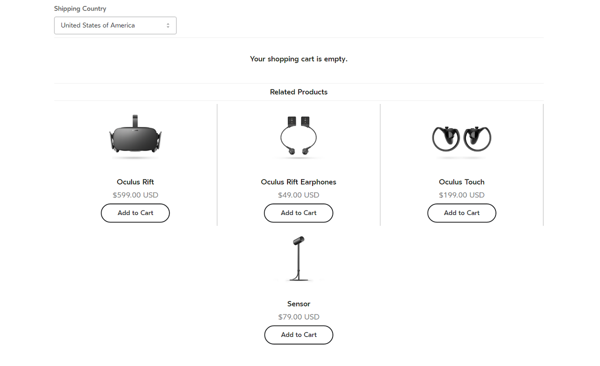 Oculus Sensors Are Now Individually Available For Order At $79