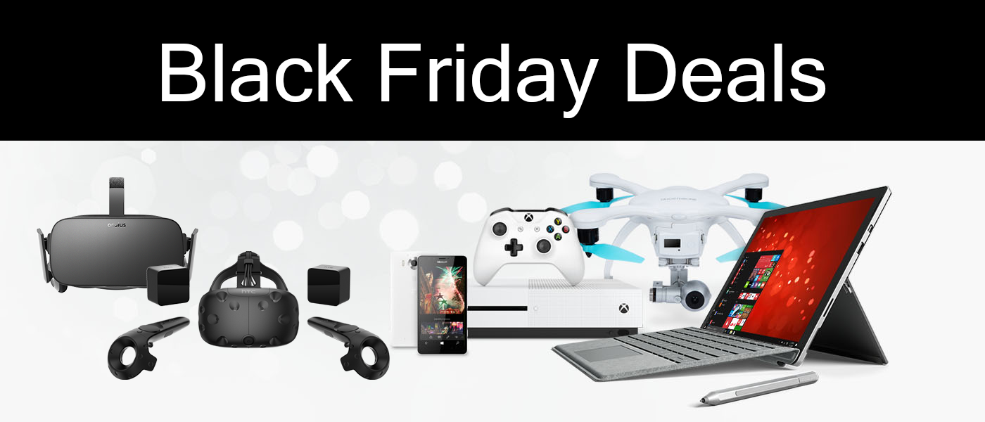 Black Friday Deals On Oculus Rift And HTC Vive