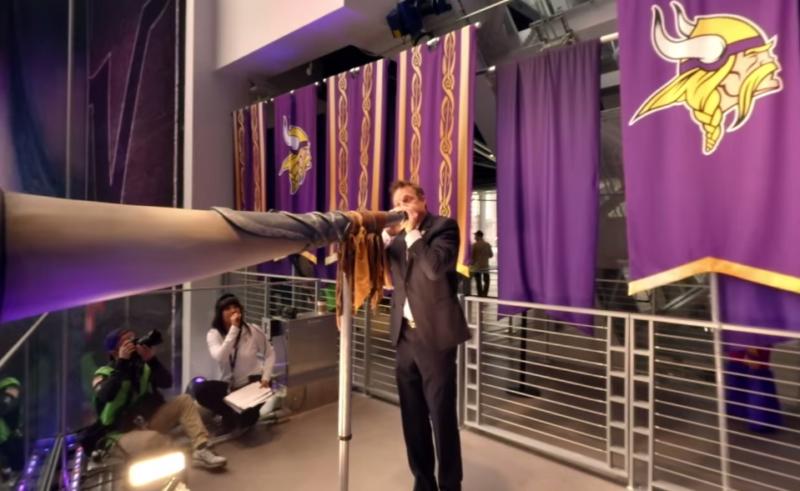 NFL Releases 360 VR Video of Minnesota Vikings vs. Arizona Cardinals at U.S. Bank Stadium