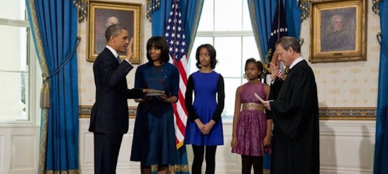 obamas at white house