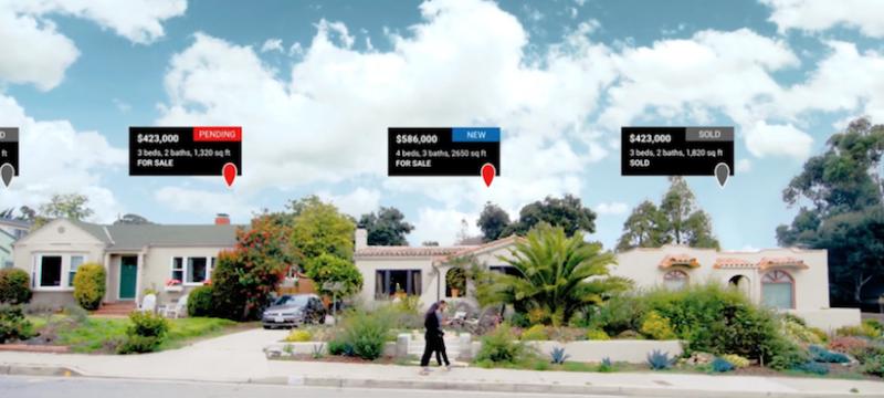 realtor.com sneek peek app augmented reality
