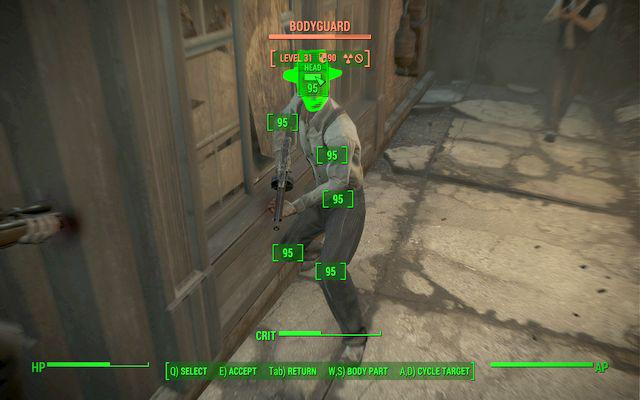 Fallout 4-V.A.T.S