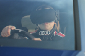 enter sandbox vr experience by audi