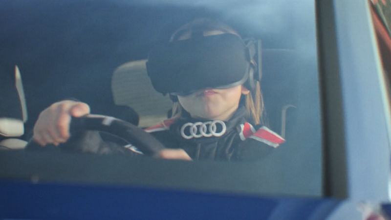 Enter Sandbox VR Experience By Audi Allows You To Create Your Own Track And Drive