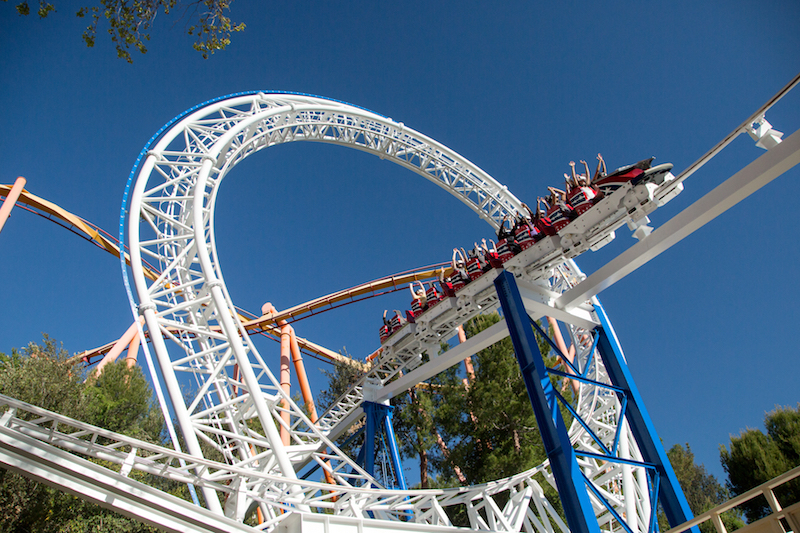 galactic attack roller coaster