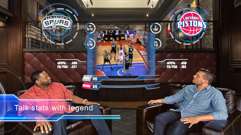NBA Releases An Exclusive VR App For Google Daydream During The 2017 All-Star Weekend