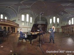 joshua bell at lyndhurst hall with Playstation VR