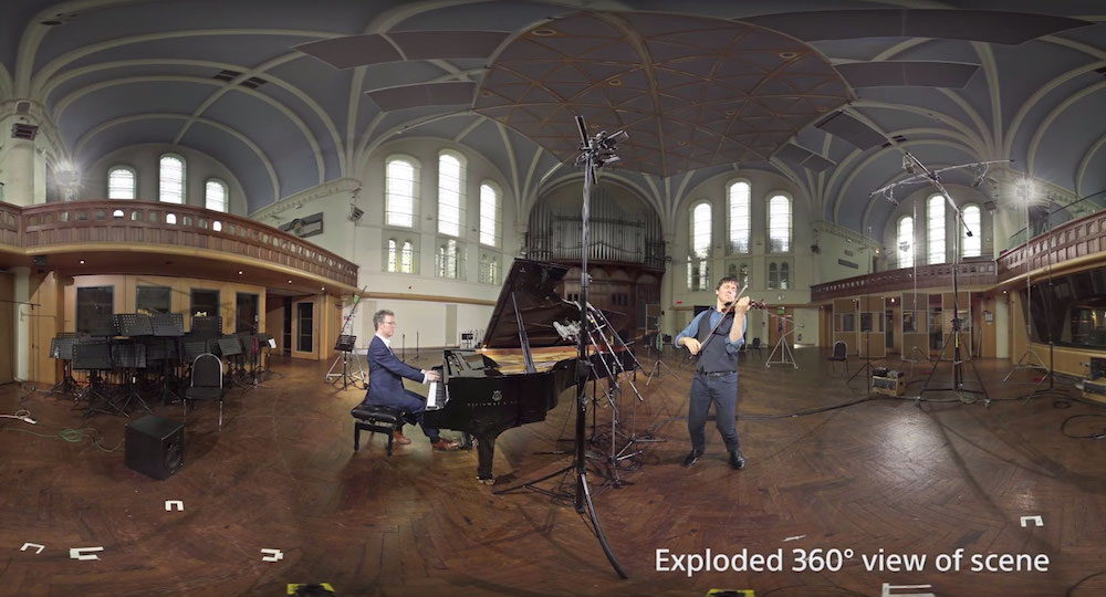 Sony Releases A PSVR Music Experience Of Joshua Bell At Lyndhurst Hall