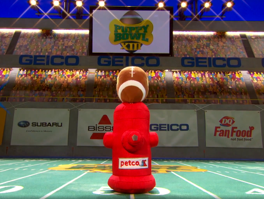 puppy bowl xiii lombarky trophy