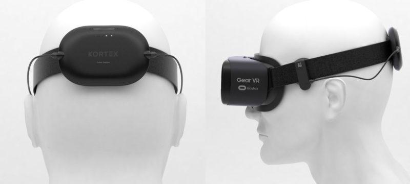 kortex peripheral device on samsung gear vr