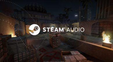 steam audio logo