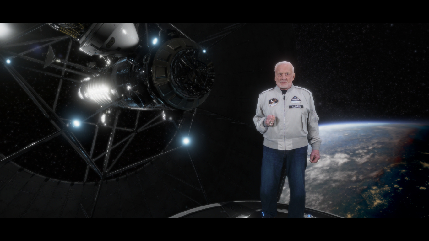 LIFE VR Releases An Outer Space Experience Called Buzz Aldrin: Cycling Pathways to Mars