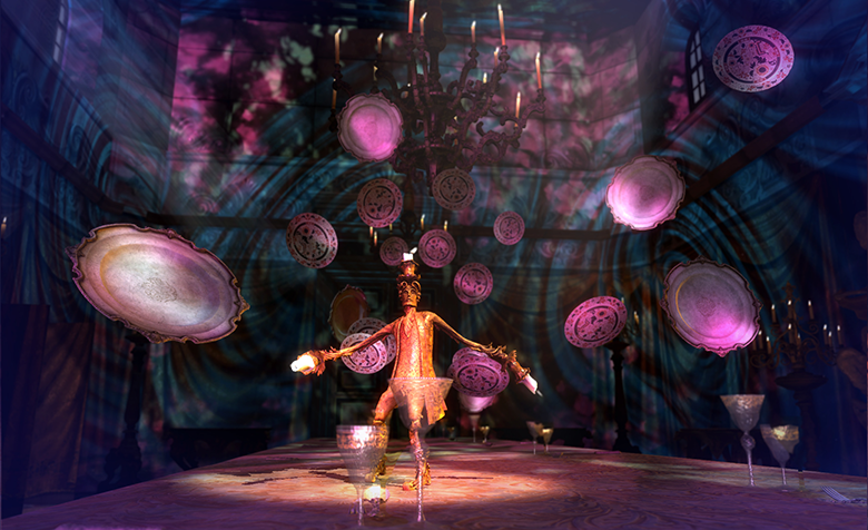 Dive Into The World of Disney's 'Beauty and the Beast' With 'Lumiere's Dress Rehearsal' VR Experience
