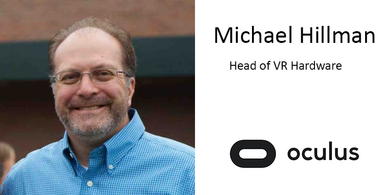 Apple Vet Michael Hillman Announced as Oculus's Head of VR Hardware