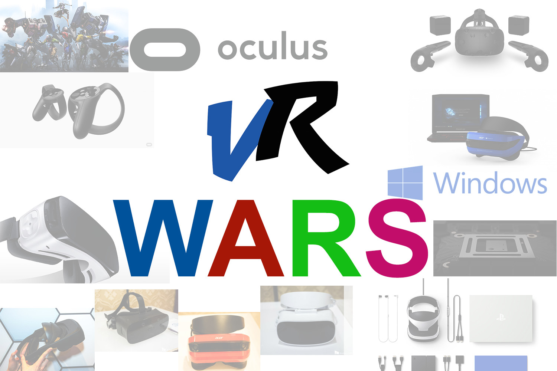 Let The Great VR Wars Begin