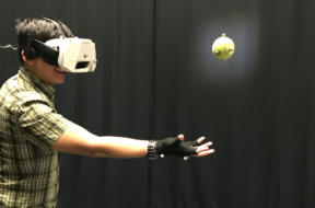 catching ball in vritual reality