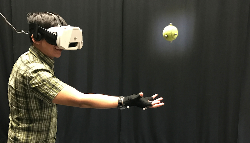 Disney Research Shows How People Can Catch Real Balls In The Virtual World