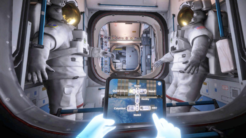 NASA Turns to VR for ISS Astronaut Training