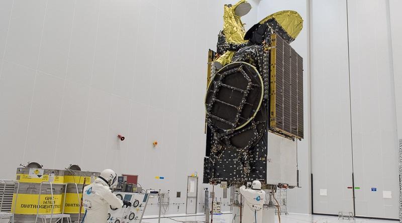 echostar 23 satellite image