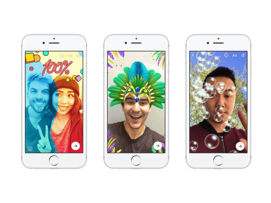 Mark Zuckerberg Shows Off Facebook's New AR Filters