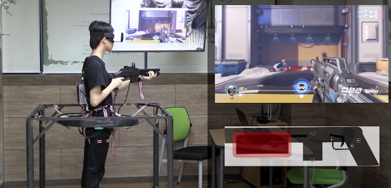 Korean Teenagers Invented A Way To Play Overwatch In VR with Full-Motion Tracking
