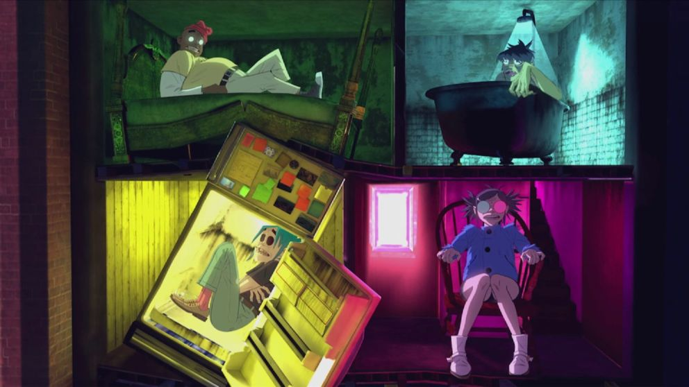 Gorillaz Release A 360 Music Video For Their Song Saturnz Barz