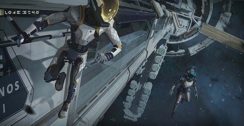 Lone Echo Is A Promising VR Game with Amazing Zero-Gravity Movement