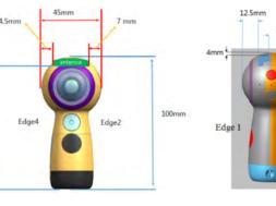 new samsung gear 360 camera image
