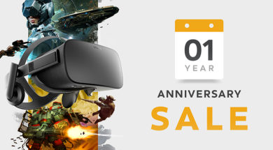 oculus one year anniversary sale