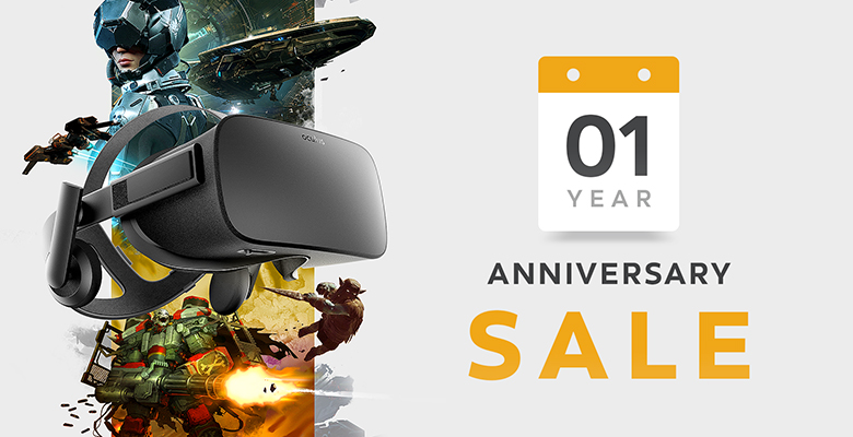 Oculus Is Throwing A One Year Anniversary Sale With Exclusive Offers