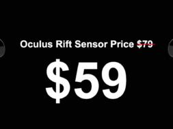 oculus rift sensor cost