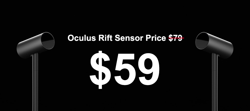 Oculus Has Slashed Prices On Their Sensor To $59