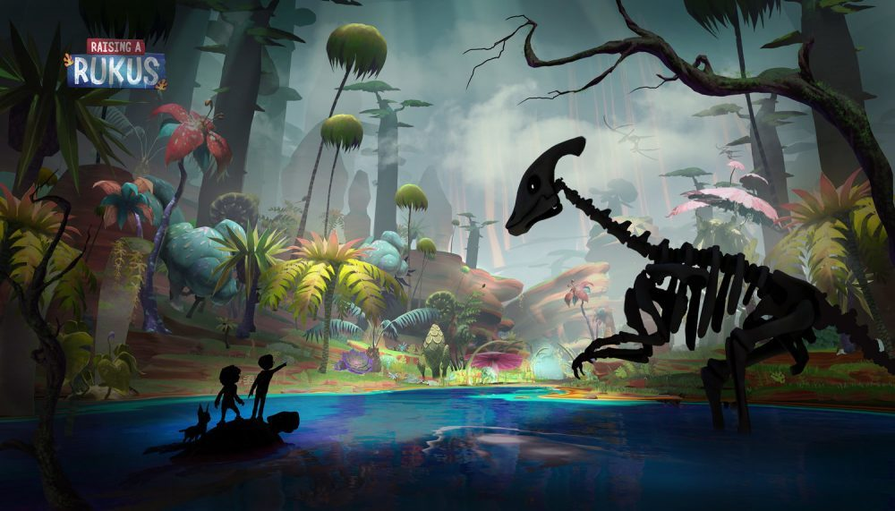 The Virtual Reality Company Announces A New Animated VR Series Called 'Raising A Rukus