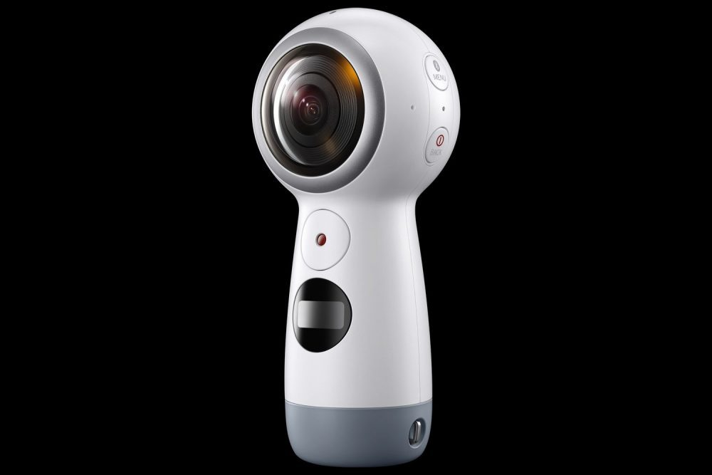 First Look: Here's The Next Iteration Of The Samsung Gear 360 Camera Shooting At 4K