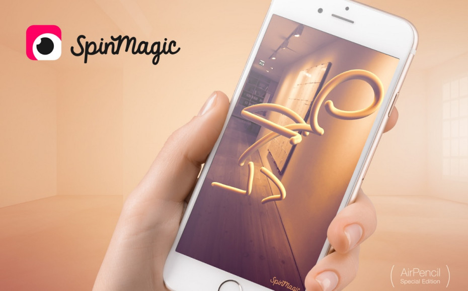 SpinMagic Uses Augmented Reality Technology To Let You Doodle In Your Living Space