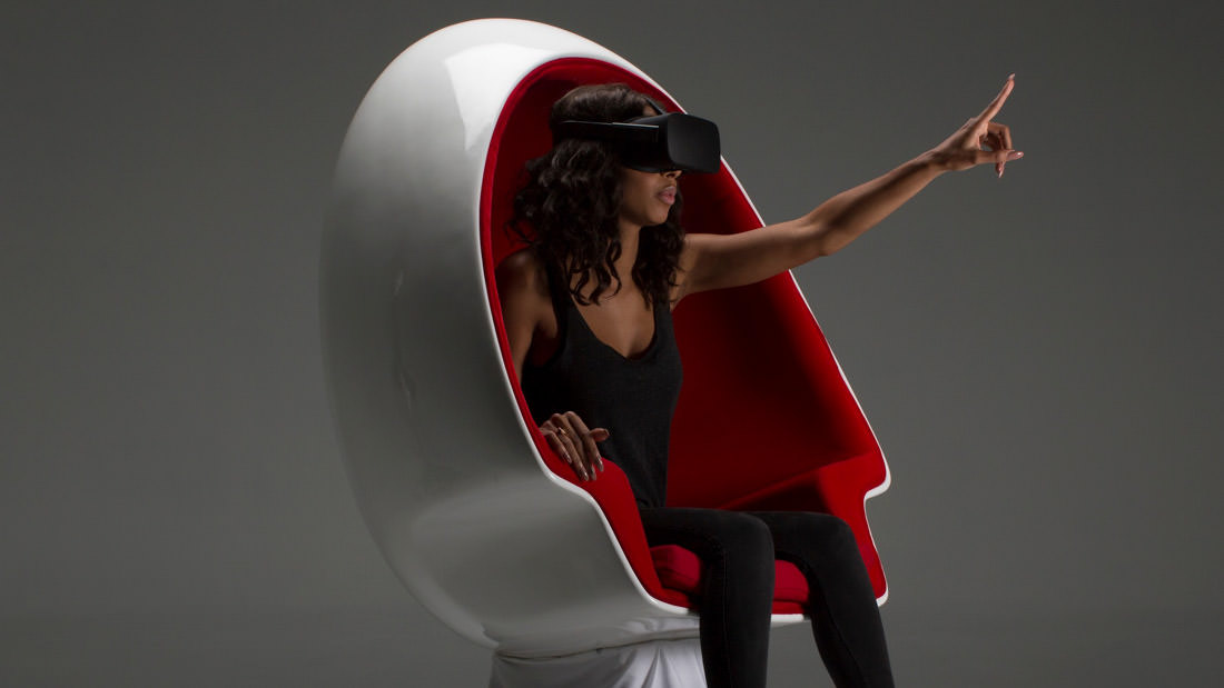 voyager vr experience chair