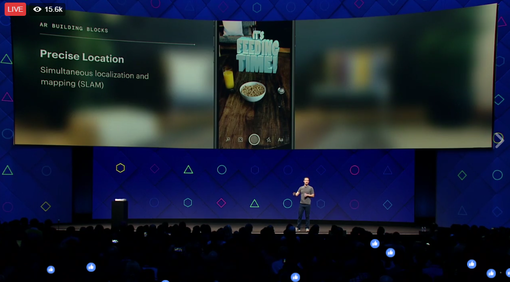 Mark Zuckerberg Introduces Beta for First Augmented Reality Platform Today at F8